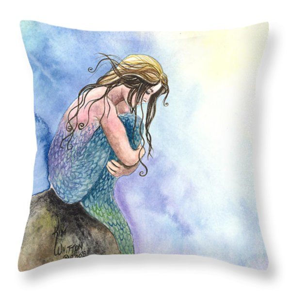 Wishful Thinking Throw Pillow by Kim Whitton