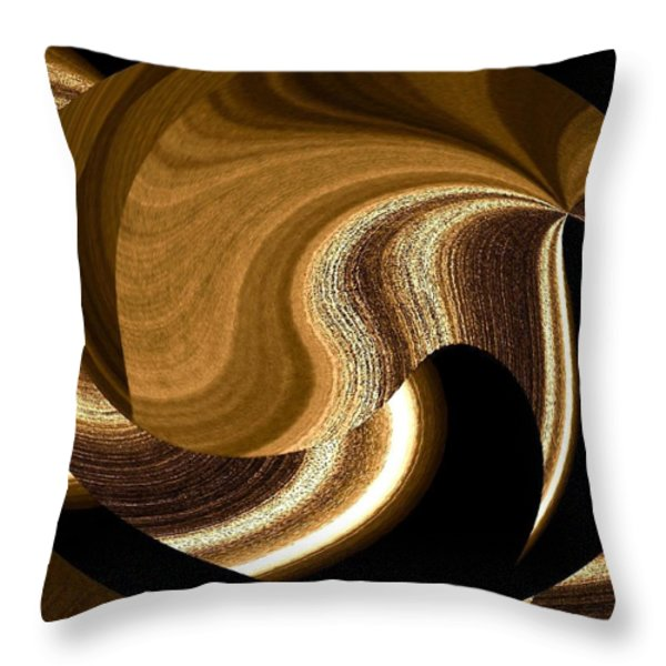 Wood Grains Throw Pillow by Will Borden