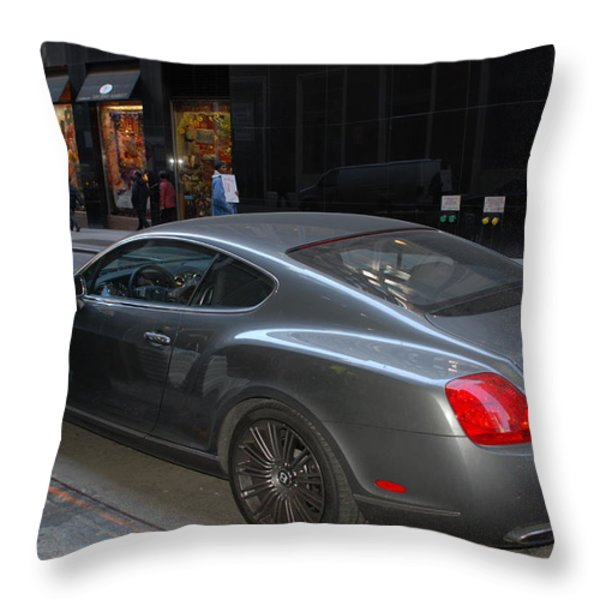 Yes    Write Him Up Cop Throw Pillow by Rob Hans