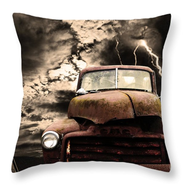 Yesterday Came Early . Tomorrow Is Almost Over Throw Pillow by Wingsdomain Art and Photography