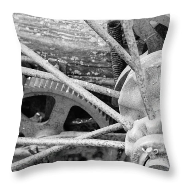 Yesteryear Throw Pillow by Michael Peychich