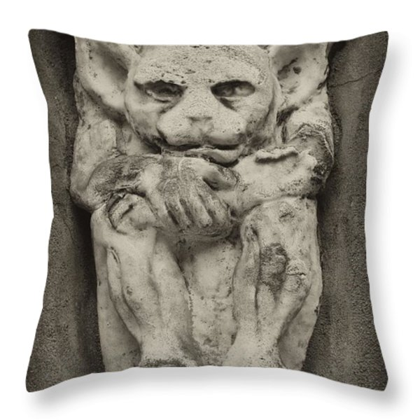 Yoda Throw Pillow by Bill Cannon