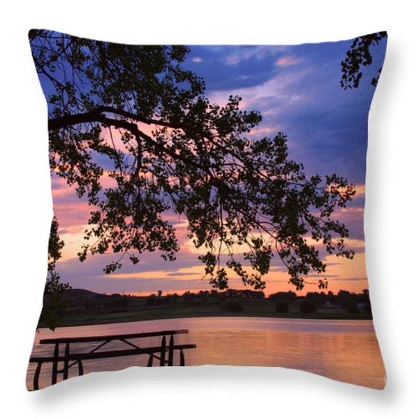 Your Table Is Ready Throw Pillow by James BO  Insogna