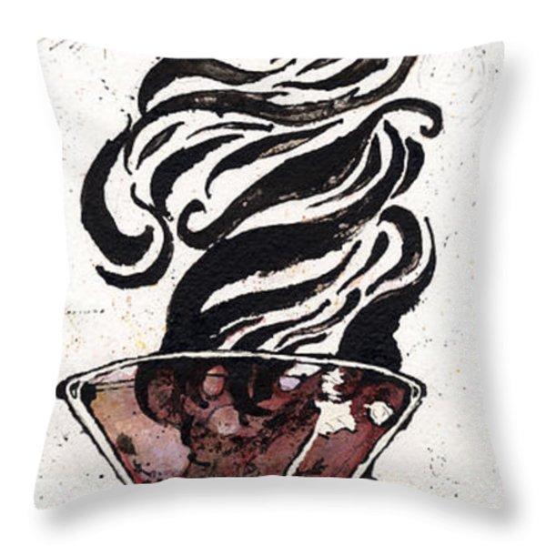 Zebratini Throw Pillow by Mark M  Mellon