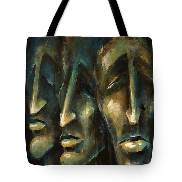 ' Jury Of Eight ' Tote Bag by Michael Lang