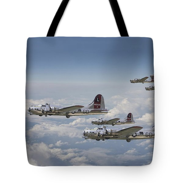 381st Group Outbound Tote Bag by Pat Speirs