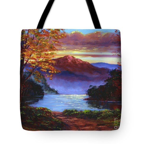 A Moment Of Softness Tote Bag by David Lloyd Glover