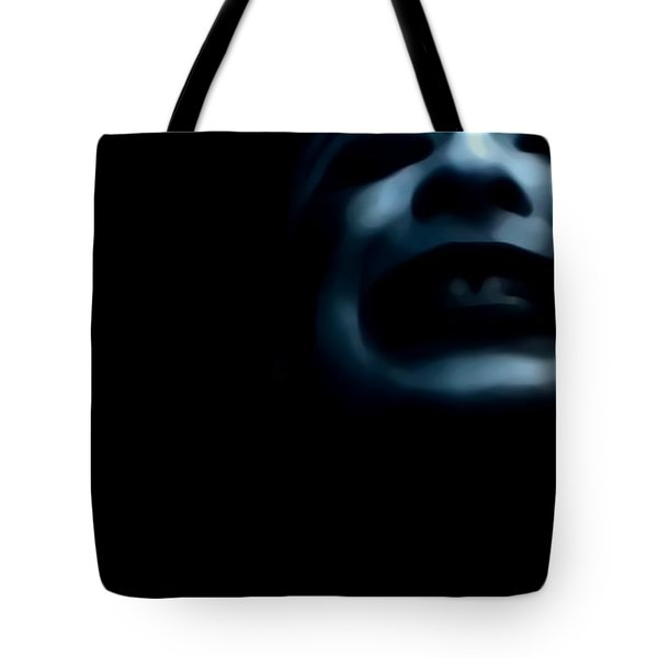 Agony I Wait Tote Bag by Jessica Shelton