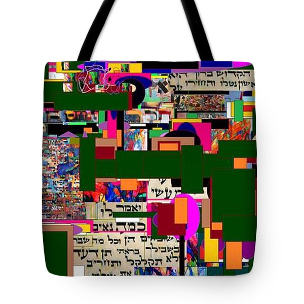Atomic Bomb of Purity 5a Tote Bag by David Baruch Wolk