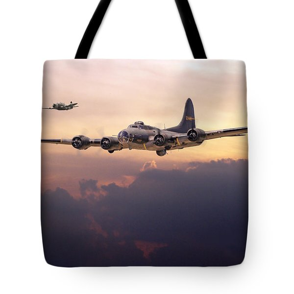 B17- Last Home Tote Bag by Pat Speirs