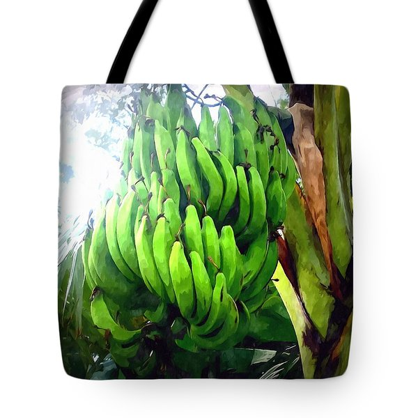 Banana Plants Tote Bag by Lanjee Chee