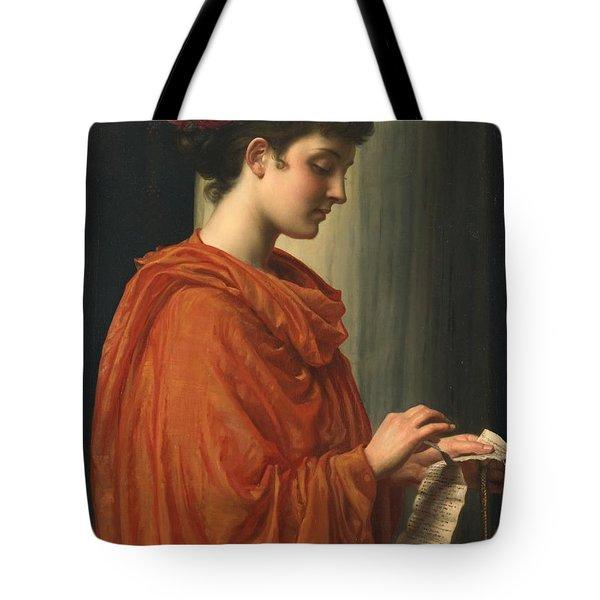 Barine Tote Bag by Sir Edward John Poynter