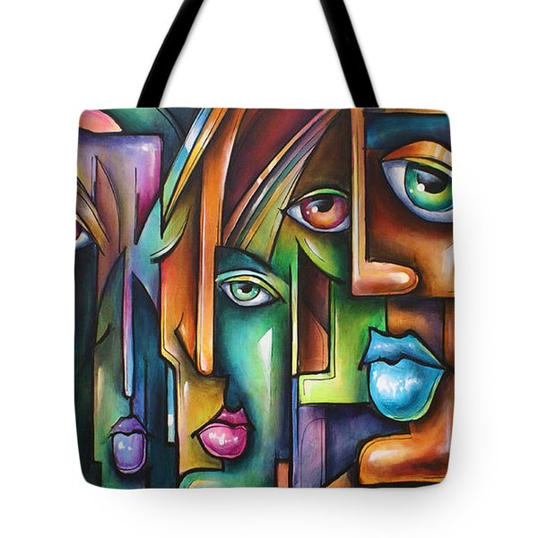 ' Believers ' Tote Bag by Michael Lang