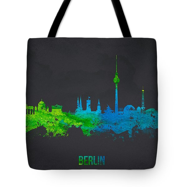 Berlin Germany Tote Bag by Aged Pixel