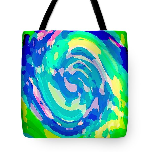 BOLD AND COLORFUL PHONE CASE ARTWORK LOVELY ABSTRACTS CAROLE SPANDAU CBS ART EXCLUSIVES 134  Tote Bag by CAROLE SPANDAU