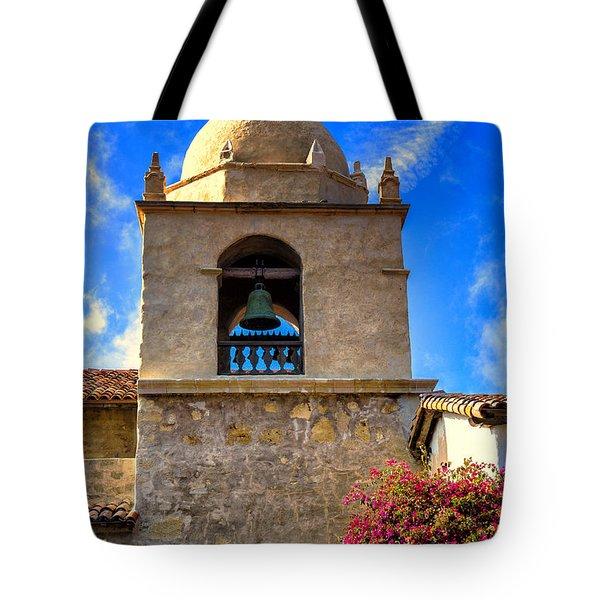 Carmel Mission Tote Bag by Garry Gay