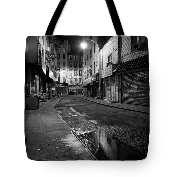 Chinatown New York City - Doyers Street Tote Bag by Gary Heller