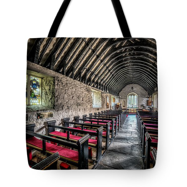 Church of St Mary Tote Bag by Adrian Evans