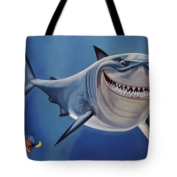 Finding Nemo Tote Bag by Paul  Meijering