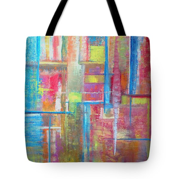 ... For A Trickle Of Water  Tote Bag by Jeremy Aiyadurai