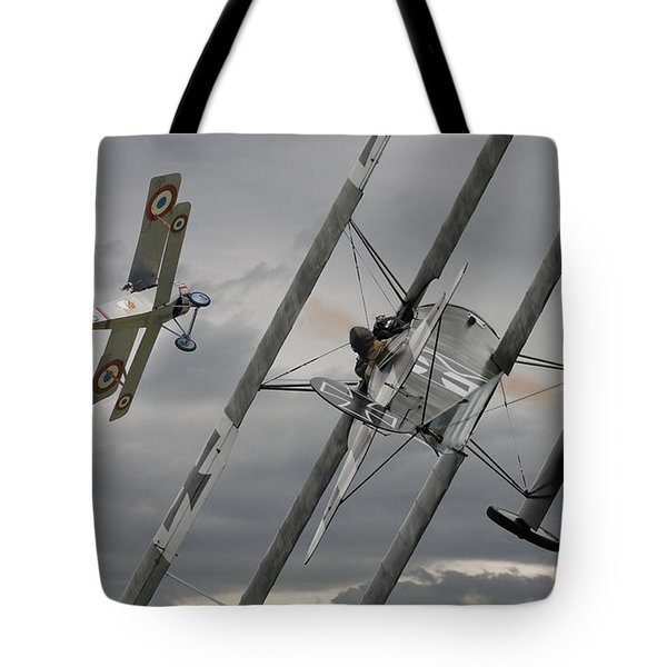 Gotcha Tote Bag by Pat Speirs