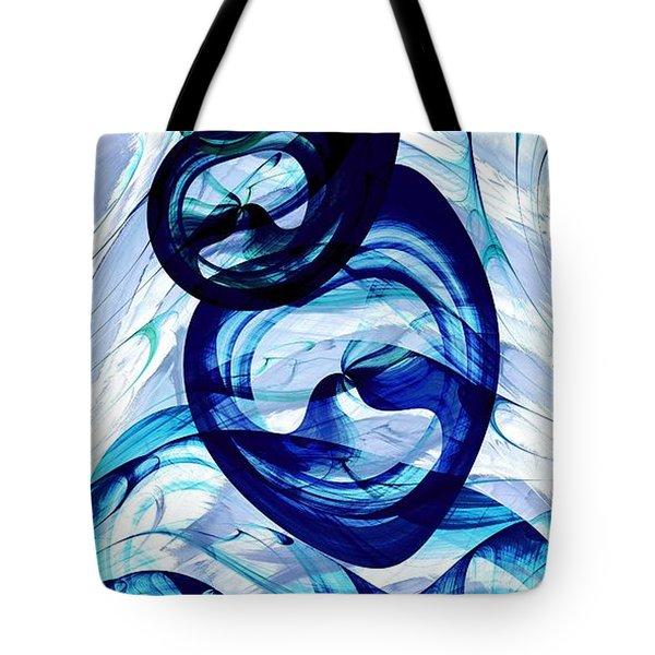 Immiscible Tote Bag by Anastasiya Malakhova