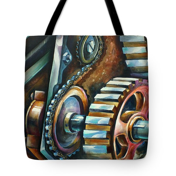 ' In Harmony ' Tote Bag by Michael Lang