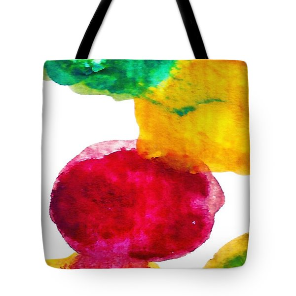 Interactions 1 Tote Bag by Amy Vangsgard