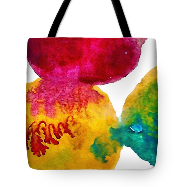 Interactions 3 Tote Bag by Amy Vangsgard