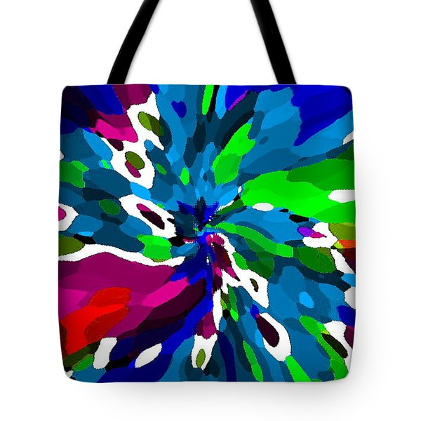 IPHONE CASES COLORFUL RICH BOLD ABSTRACTS CELL PHONE COVERS CAROLE SPANDAU CBS DESIGNER ART 164  Tote Bag by CAROLE SPANDAU