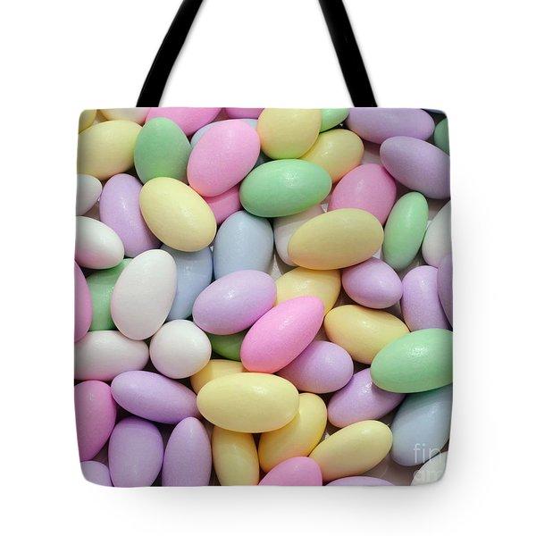 Jordan Almonds - Weddings - Candy Shop Tote Bag by Andee Design