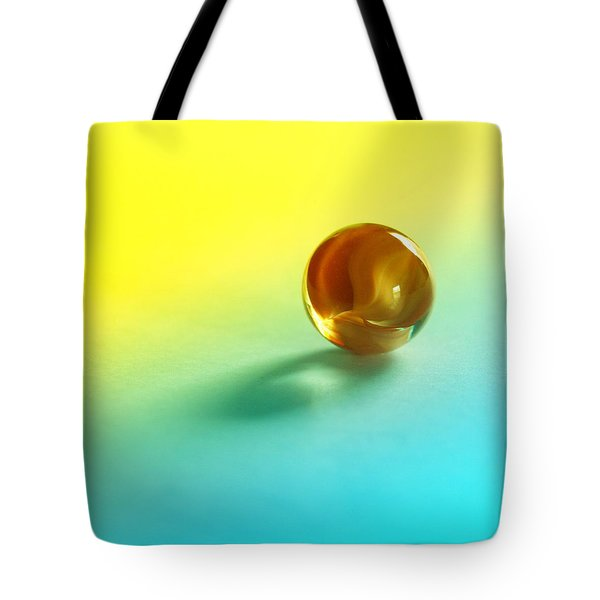 Lost Marble Tote Bag by Tom Druin