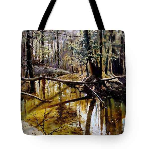 Lubianka-2-River Tote Bag by Henryk Gorecki