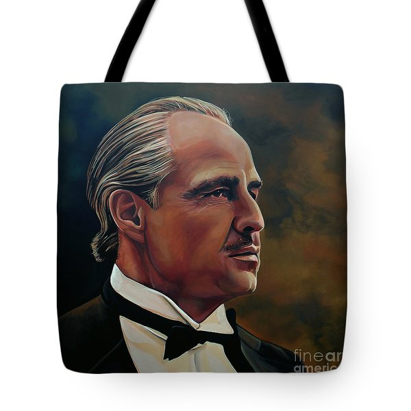 Marlon Brando Tote Bag by Paul Meijering
