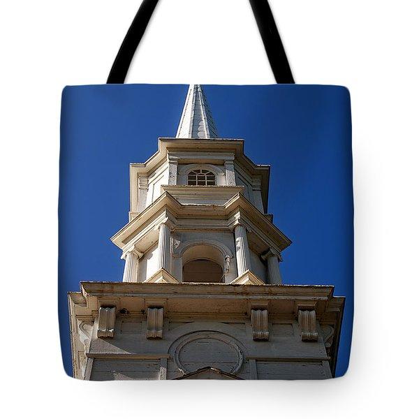 Martha-mary Chapel  Tote Bag by Edward Fielding
