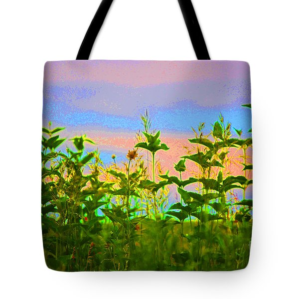 Meadow Magic Tote Bag by First Star Art