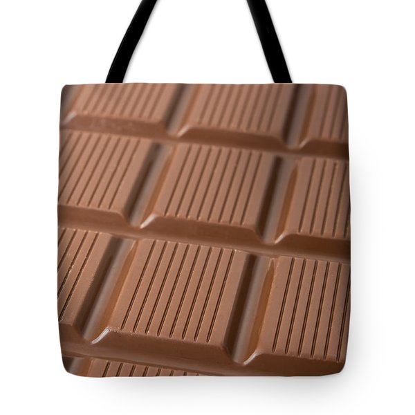 Milk Chocolate Bar Tote Bag by Jose Elias - Sofia Pereira