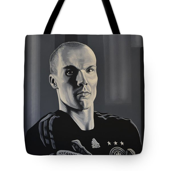 Robert Enke Tote Bag by Paul Meijering