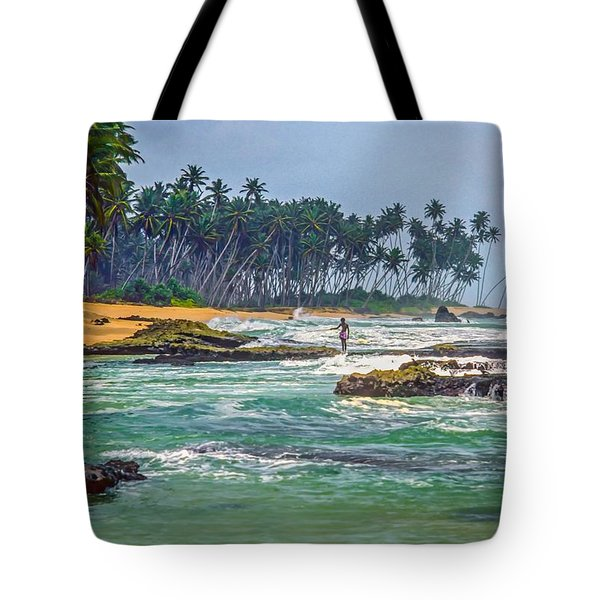 Sri Lanka Tote Bag by Steve Harrington