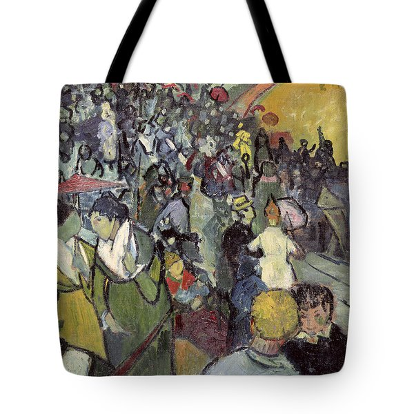 The Arena At Arles Tote Bag by Vincent van Gogh