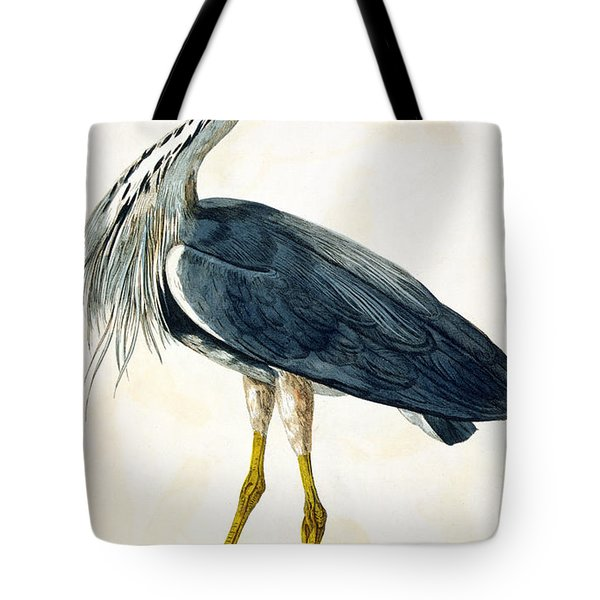 The Heron  Tote Bag by Peter Paillou