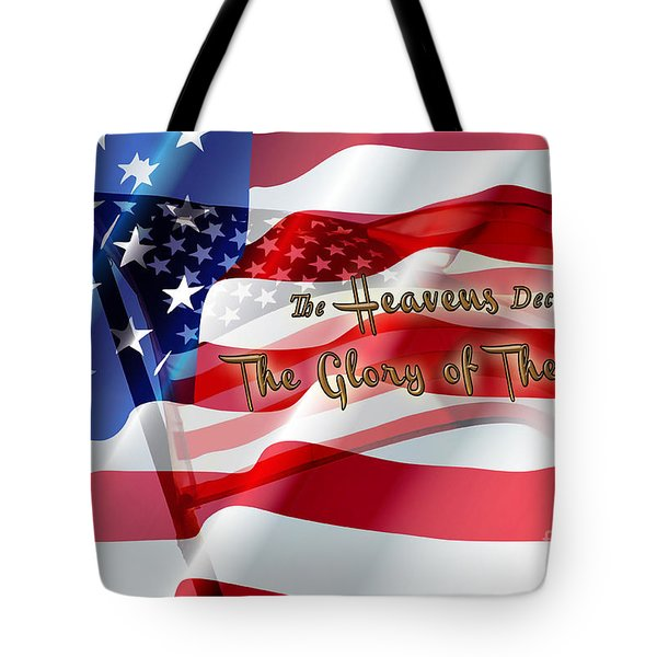 The Stars And Stripes Tote Bag by Beverly Guilliams