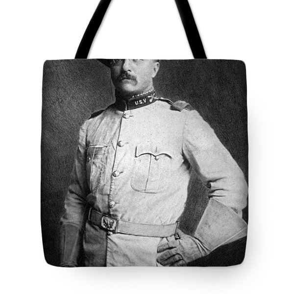 Theodore Roosevelt Tote Bag by American School