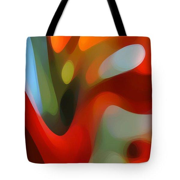 Tree Light 2 Tote Bag by Amy Vangsgard