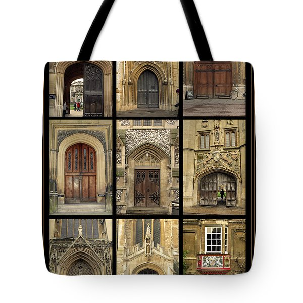 Uk Doors Tote Bag by Christo Christov