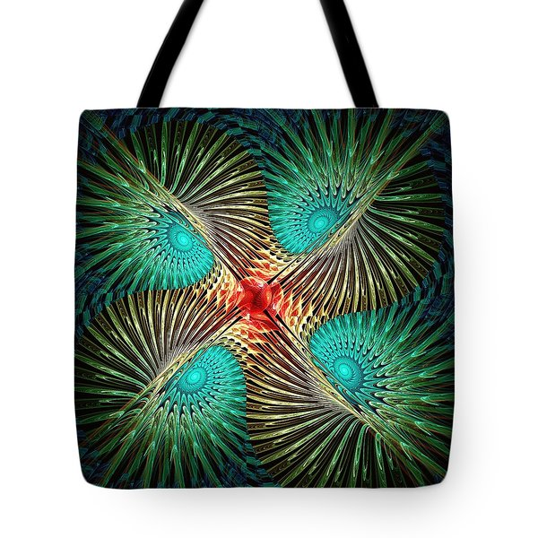 Visual Perception Tote Bag by Anastasiya Malakhova