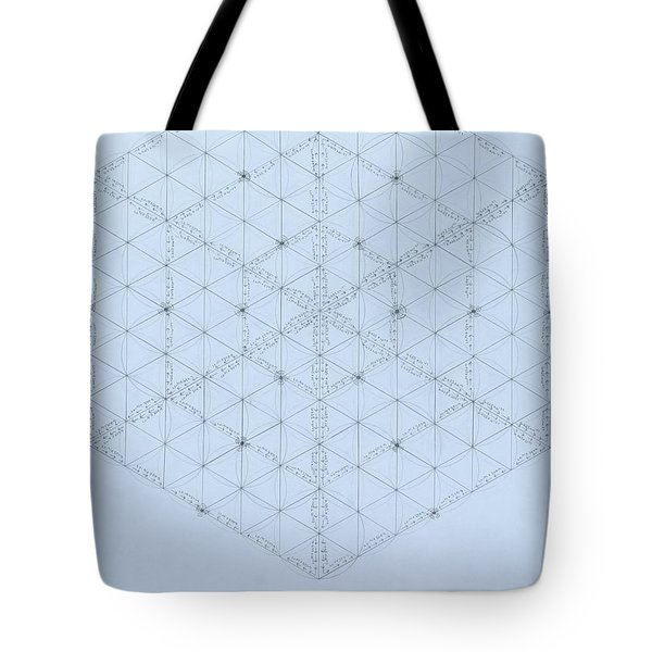 Why Energy Equals Mass Times The Speed Of Light Squared Tote Bag by Jason Padgett