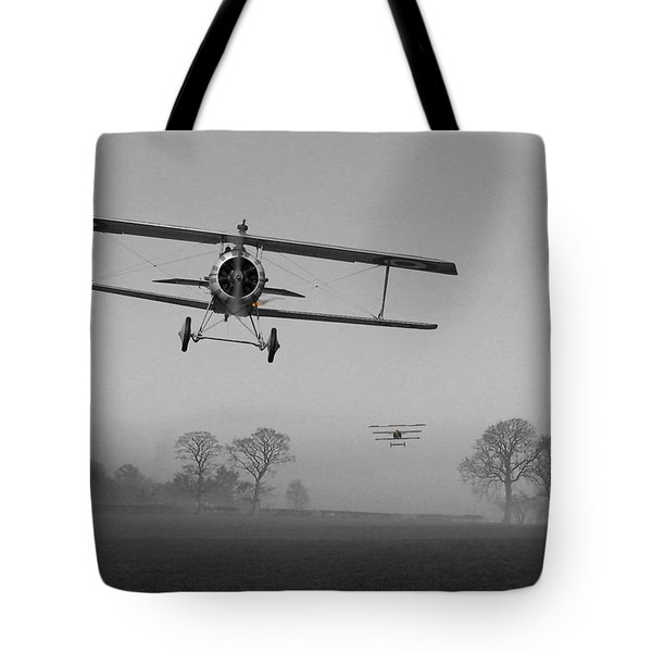 WW1 - Red in the Morning Tote Bag by Pat Speirs