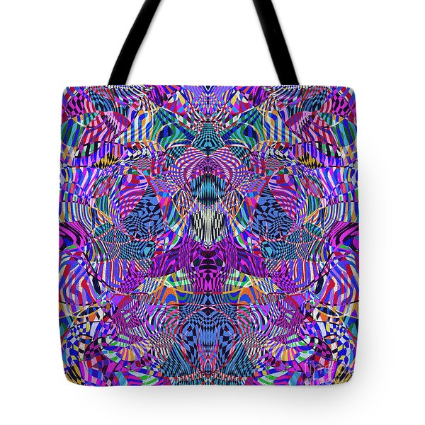 0476 Abstract Thought Tote Bag by Chowdary V Arikatla