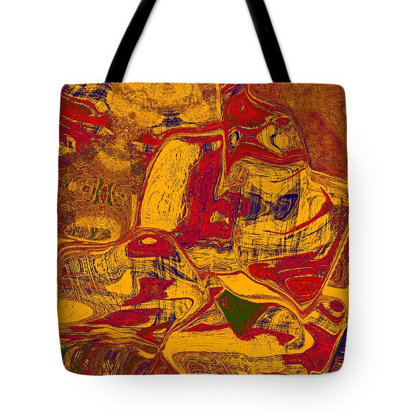0518 Abstract Thought Tote Bag by Chowdary V Arikatla
